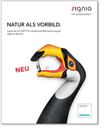 Plattform-Broschüre Signia Nx